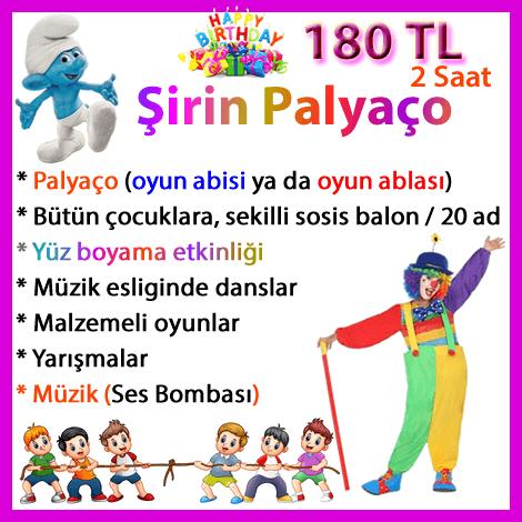 Palyaco Kiralama Istanbul Profesyonel Hizmet 2 Saat 150 Tl