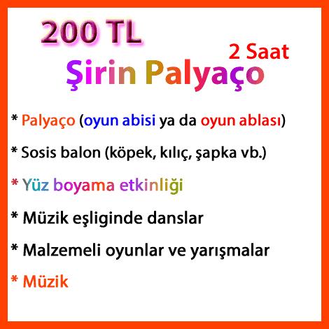 şirin paket; palyaco-kiralama-sirinpaket2021