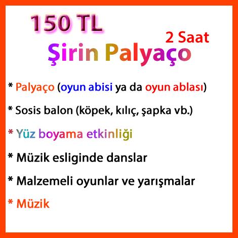şirin paket; palyaco-kiralama-sirinpaket2020-kampanya
